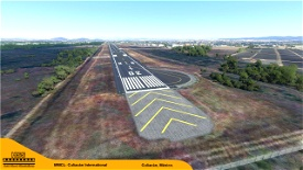 (MMCL) Culiacan International Airport, Mexico Microsoft Flight Simulator