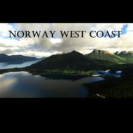 Norway West Coast - 90 min. Scenic Flight - Visit the Alesund Microsoft Flight Simulator