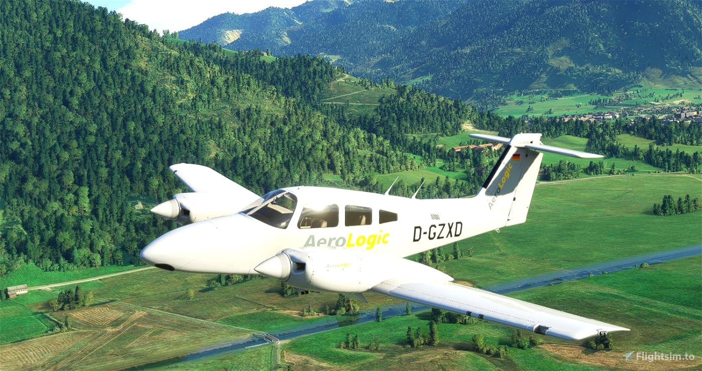 PA44 Seminole Aero Logic (Carenado) Microsoft Flight Simulator