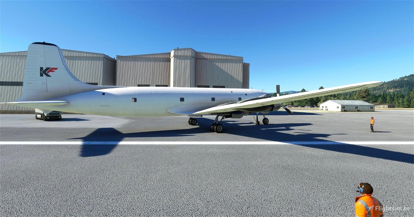 PMDG DC-6A Kelowna Flightcraft
