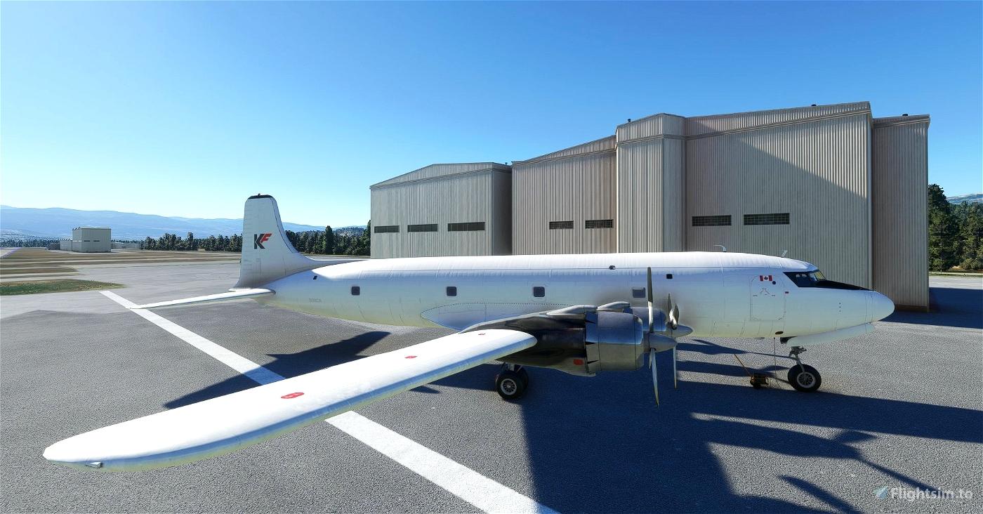 PMDG DC-6A Kelowna Flightcraft Microsoft Flight Simulator