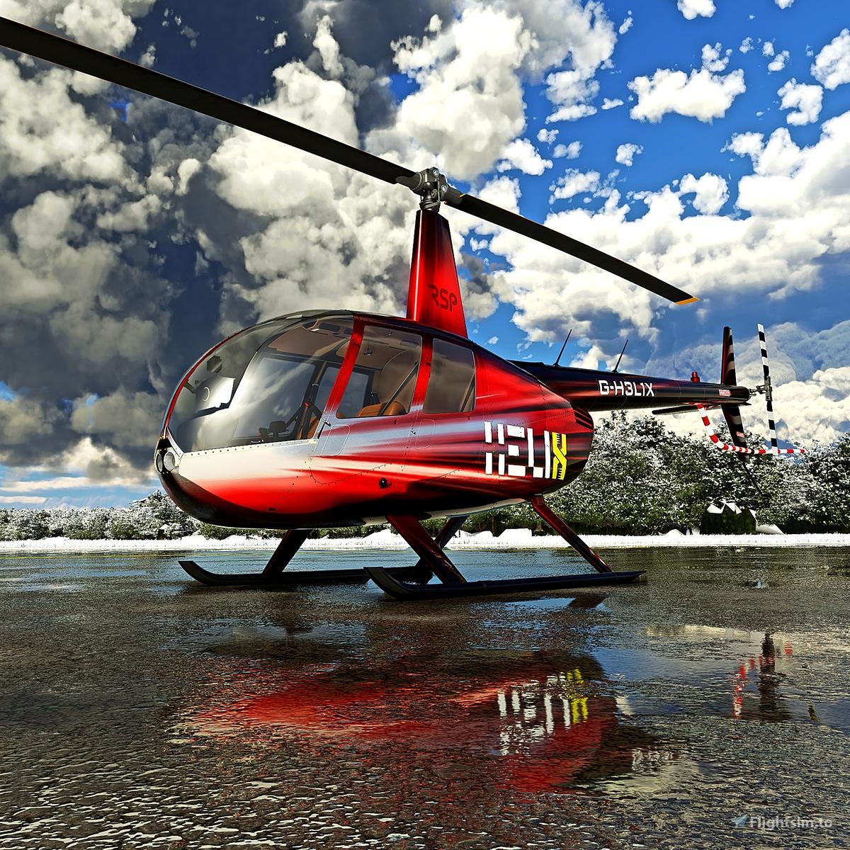 R44 | G-H3L1X Ruby Microsoft Flight Simulator
