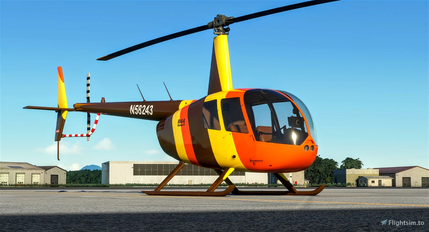 R44 Raven II   Island Hoppers Microsoft Flight Simulator