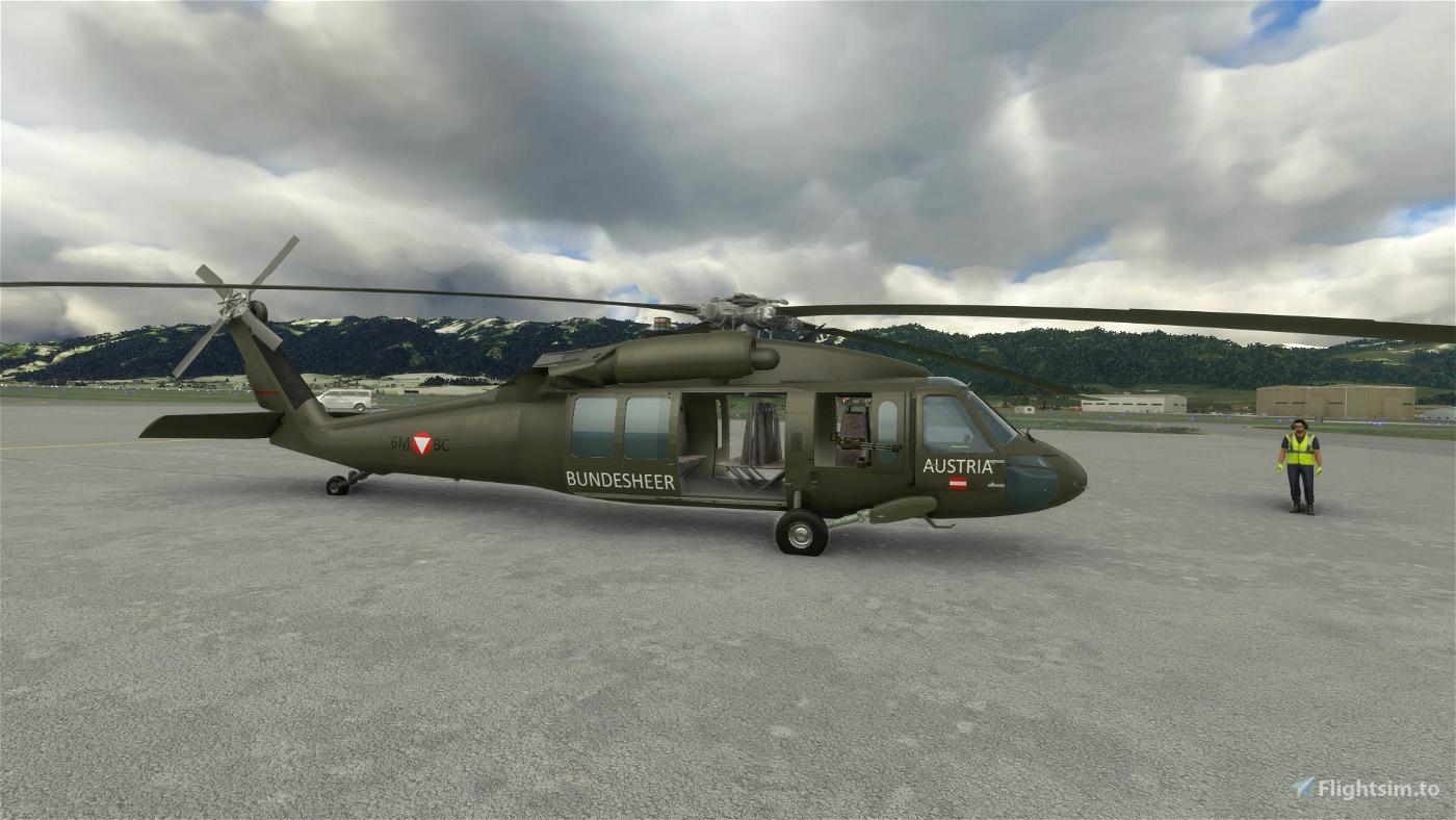 UH60 Bundesheer Livery [Austrian Air Force] Microsoft Flight Simulator