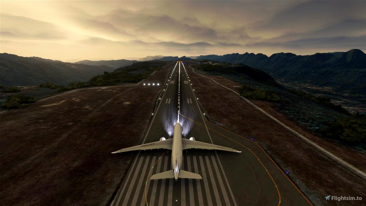 [ZGHC] Hechi Jinchengjiang Airport