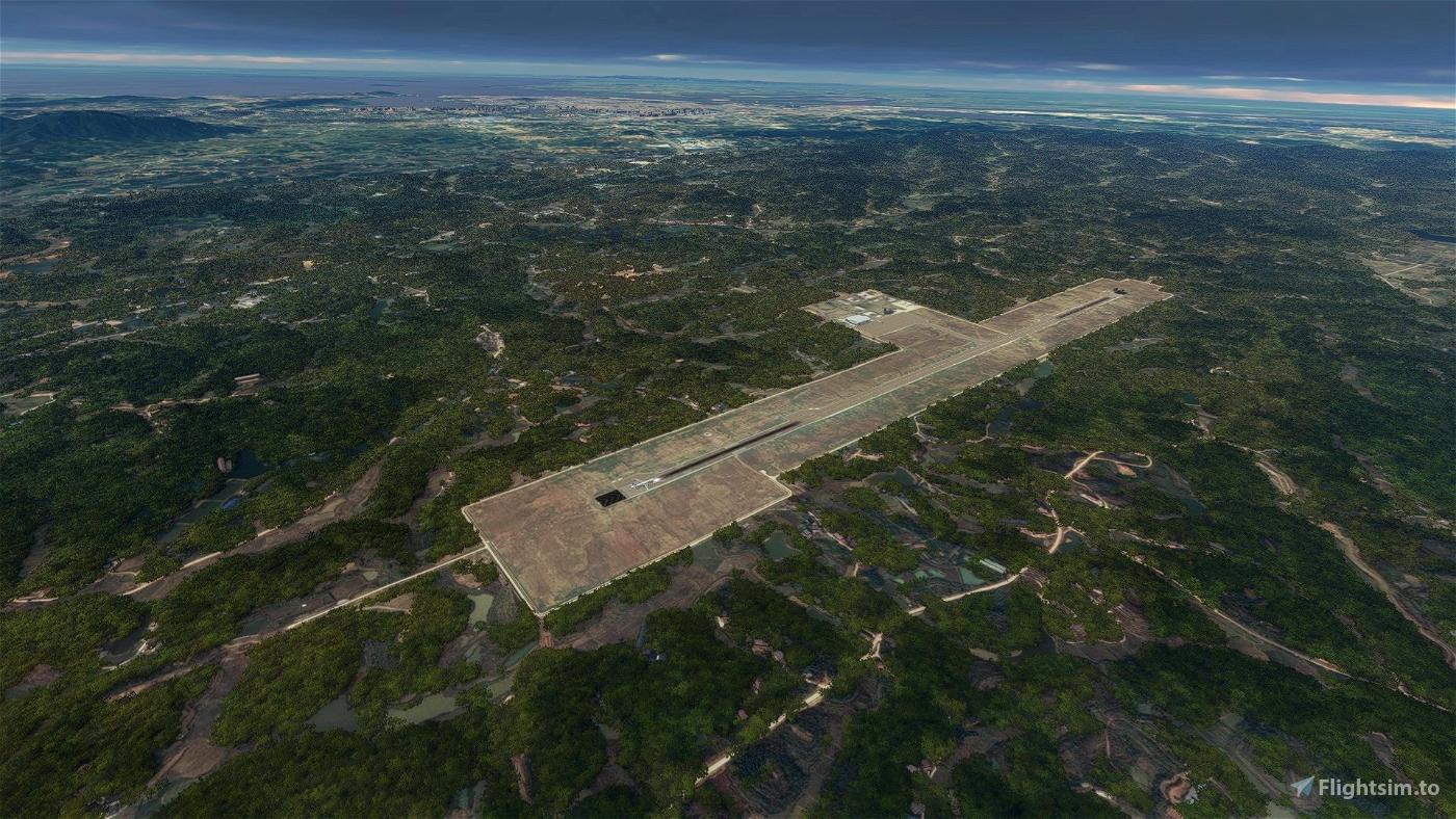 [ZGYY] Yueyang Sanhe Airport Microsoft Flight Simulator